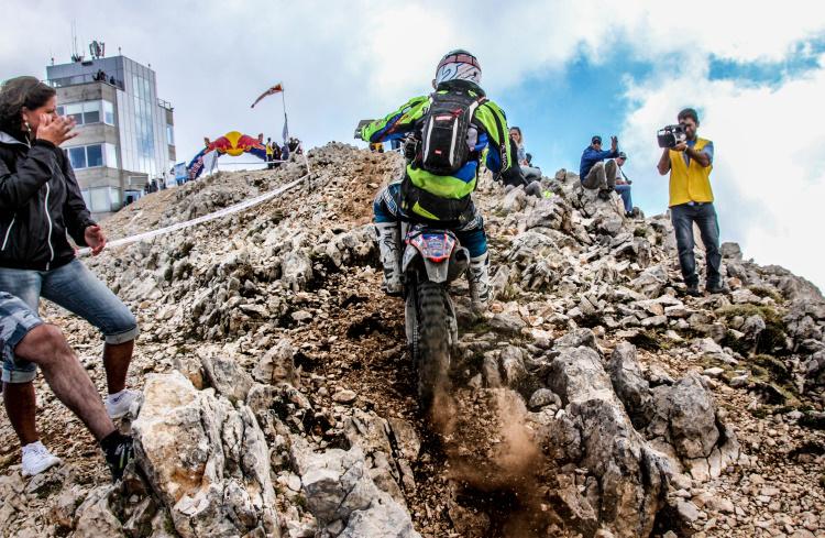 Finish auf dem Mount Tahtali